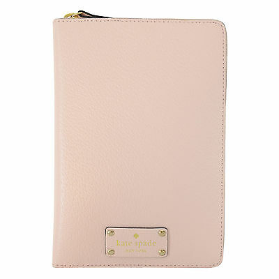 NEW Kate Spade Ballet Slipper Pink Wellesley Zip Organizer Planner Agenda