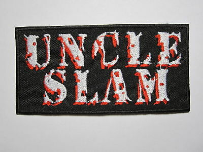 UNCLE SLAM logo embroidered NEW patch thrash crossover metal