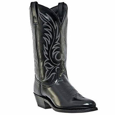 5740 Laredo Ladies Leather Foot Western Cowgirl Boot Black NEW