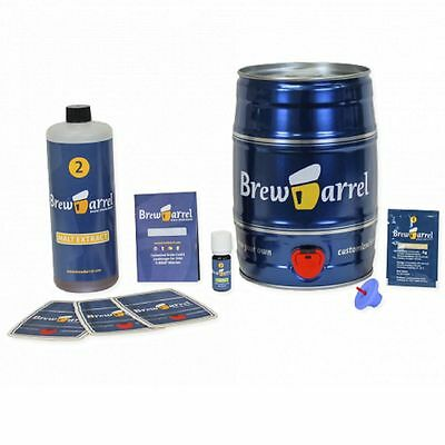 Brewbarrel Brew Barrel Brew Your Own India Pale Ale Home Brewing Kit Beer Gift