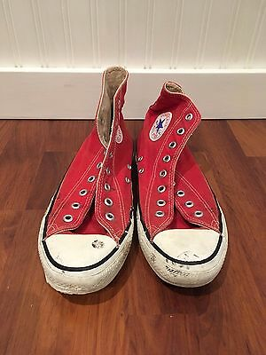 VTG Converse All Star Made in USA Chuck Taylor US 8.5 Red