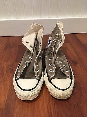 VTG Converse All Star Made in USA Chuck Taylor US 4.5 Brown Salty Extra Stitch