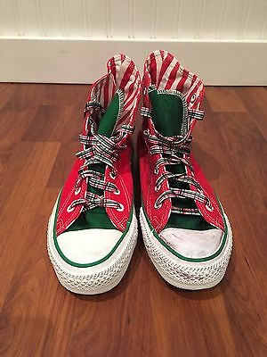 VTG Converse All Star Made in USA Chuck Taylor US 4.5 Christmas Holidays