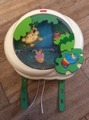 Fisher Price Rainforest Cot Soother Peekaboo Light up Musical