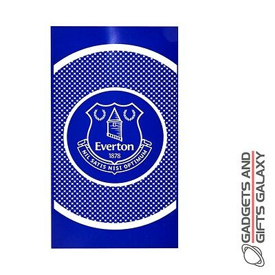 EVERTON BULLSEYE BEACH TOWEL OFFICIAL LICENSED football gift home souvenir