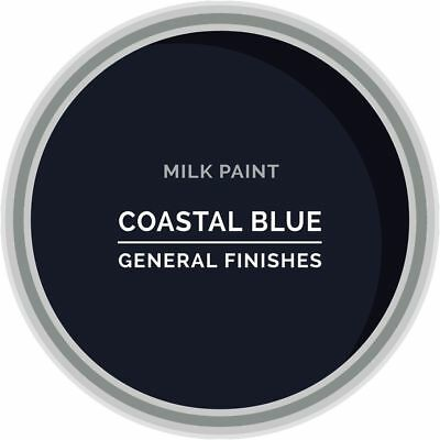 General Finishes Water Based Milk Paint, 1 Pint, Coastal Blue