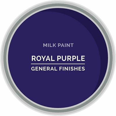 General Finishes Water Based Milk Paint, 1 Quart, Royal Purple