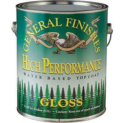 General Finishes High Performance Water Based Topcoat, 1 Gallon, Gloss