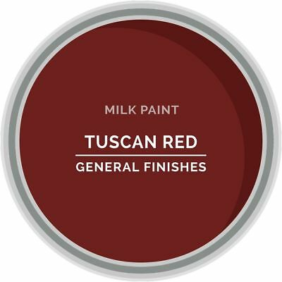 General Finishes Water Based Milk Paint, 1 Quart, Tuscan Red