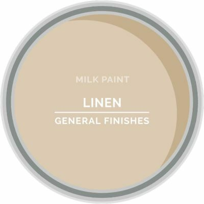 General Finishes Water Based Milk Paint, 1 Quart, Linen