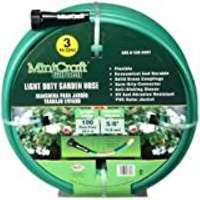 "Mintcraft Gh-58503-1003l Light Duty 3 Ply PVC Garden Hose, 5/8"" X 100'"