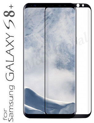 Full Curved Tempered Glass Screen Protector for Samsung Galaxy S8 / S8 Plus + 4D