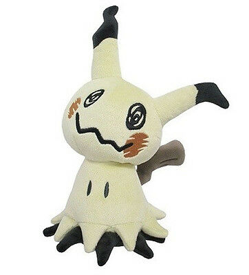 "NEW Sanei Pokemon All Star Collection Sun & Moon 7"" Plush Doll PP59 Mimikyu"