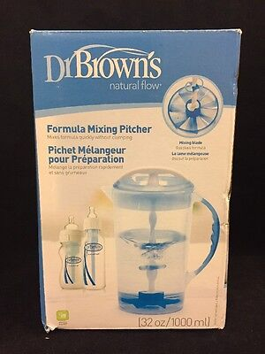 Dr. Brown's Formula Mixing Pitcher, Dr Browns Natural Flow 32 oz Pitcher