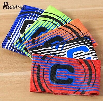 Captains Armband, Soccer, Football, Hockey, Netball - Various Colours