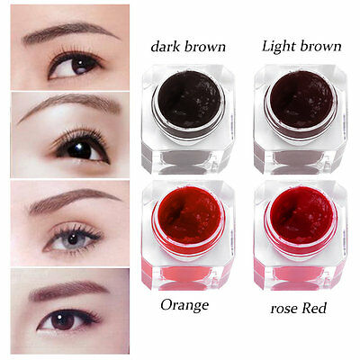 Semi Permanet Makeup Pigment Beginners Training Eyebrow Tattoo Ink Pigment AU