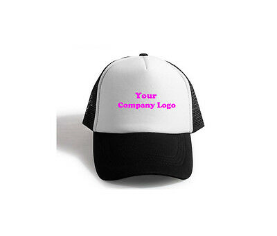 Personalised Premium Hat/Cap (with Name and Company Logo)