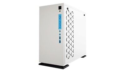 InWin 301 MICRO-ATX CASE WHITE TEMPERED GLASS SIDE PANEL GAMING CHASSIS