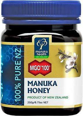 (8,76€/100g) Manuka Health Aktiver Manukahonig Manuka Honey MGO 100+ - 250g