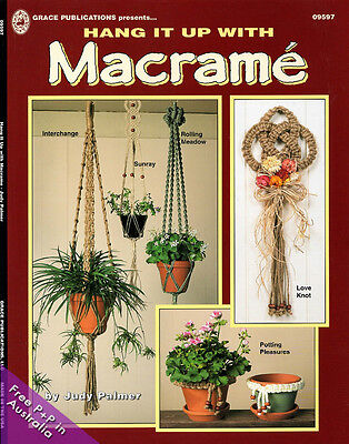 NEW Hang It Up With Macrame by Judy Palmer