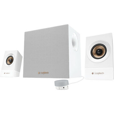 Logitech Z533 2.1 PC Smartphone TV Multimedia Speaker System 120W 2.1 - White