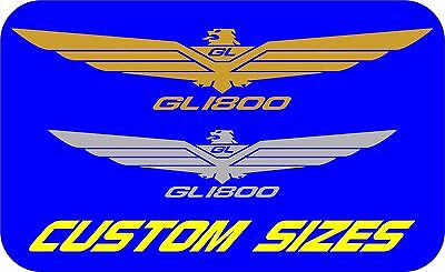 Gold Wing 1800 1500 GL SE Eagle stickers decals Chrome & Colours