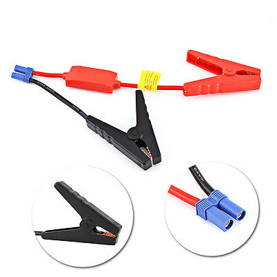 Booster Cable Alligator Clamp Emergency Car Battery Jumper Jump Start Charge ZY