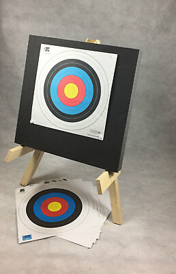 ASD Multi Layered Foam Archery Target with Stand & 10 FITA Approved Target Faces