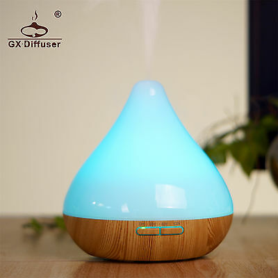 GX Diffusers Aroma Diffuser LED Essential Oil Ultrasonic Air Humidifier Diffuser