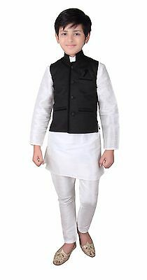 Kinder Indian Jungen Modi style weste für Bollywood-thema party outfit 001 UK
