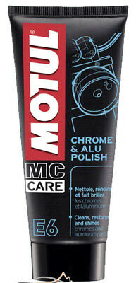 MOTUL 103001 MC CARE Line E6 Chrome & Alu Polish CHROM & ALU-PFLEGE 100ml Tube