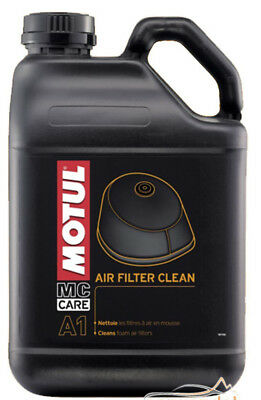 Motul 102985 A1 Air Filter Clean Mc Care Line 5L Reiniger Für Schaumstoffluftfil