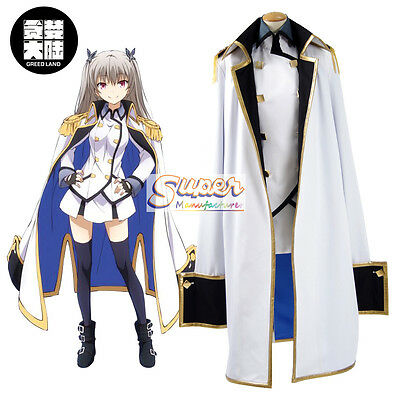 Qualidea Code Maihime Tenkawa Clothing Cos Cloth Uniform Cosplay Costume