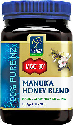 (55,60€/1kg) Manuka Health Aktiver Manukahonig Manuka Honey Blend MGO 30+ -500g