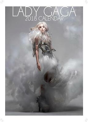 Lady Gaga Uk 2018 Large A3 Poster Size Calendar New & Sealed By Oc Calendars