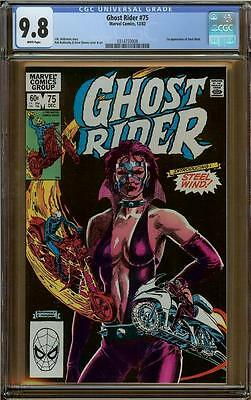 Ghost Rider #75 CGC 9.8 1st Steel Wind