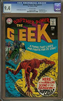 Brother Power the Geek #1 CGC 9.4 1st Appearance