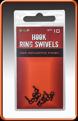 ESP Hook Ring Swivels Micro Swivels Bait Swivels FOR Ronnie/Spinner rig FREE P+P