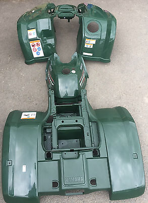 Genuine Yamaha Grizzly 450 Green Plastic Set (Shop Soiled)