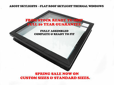 Flat Roof Skylight Window Double Glazed Thermal Glass - Rooflight Discount Sale