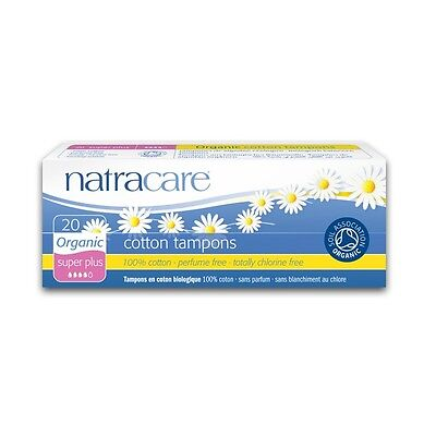 Tampons Super Plus - natracare - 20 Stück