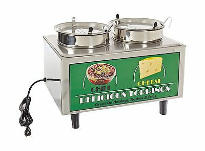 "Benchmark 51072 Chili and Cheese Warmer 21"" Length x 13"" Width x 17"" Height"