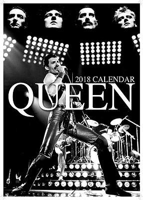 Queen Uk 2018 Large A3 Wall Calendar New & Sealed By Oc Calendars