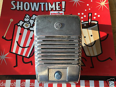 Single New RCA Drive-In Movie Car Show Prop Speaker Casting Set With Blue Knob