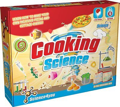 Science4you Cooking Science Kit Educational Science Toy