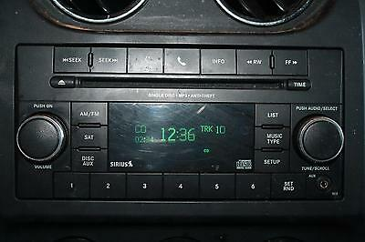 2011 11 2012 12 JEEP PATRIOT SPORT- AM FM Stereo Radio CD Player, RES, Tested