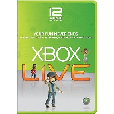 XBOX LIVE 12 (+1) MONTH GOLD MEMBERSHIP CODE (Brazil Region/VPN in 4 steps)