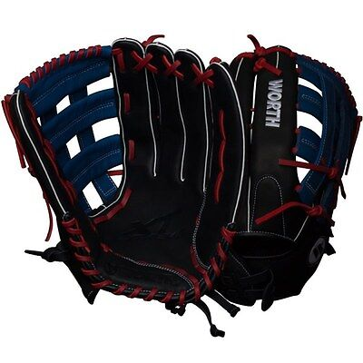 Worth XT Extreme 15″ Slowpitch Softball Glove WXT150-PH RHT, NEW