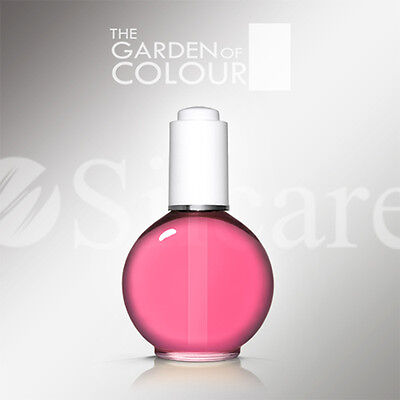 Silcare Nagelöl The Garden Of Colour Raspberry Light Pink 75ml Pipette Hautöl