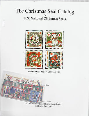 The US Christmas Seal Catalog 2006 & 1932-1961 US Complete Cinderella Label Lot*